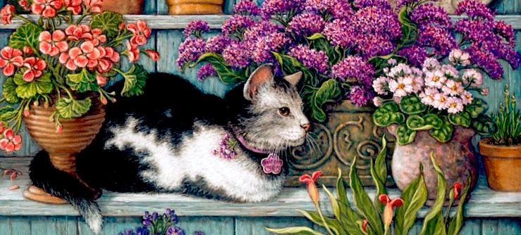 Os gatos na arte moderna